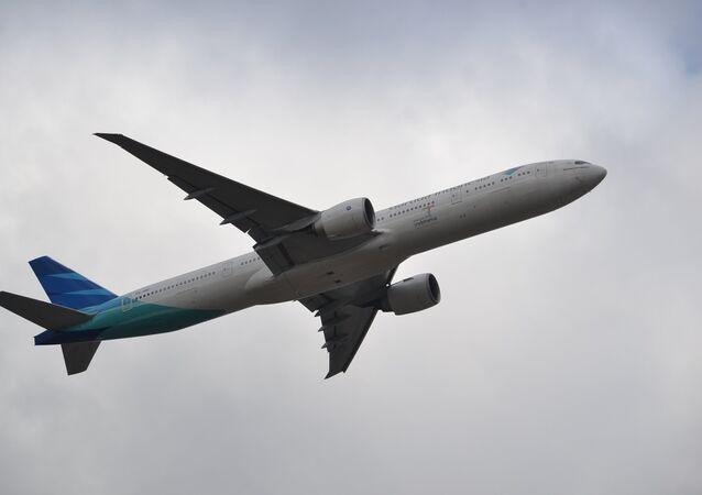 Un avión de Garuda Indonesia