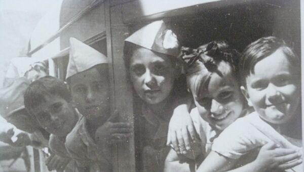 Niños de la guerra españoles . Exposición - Sputnik Mundo