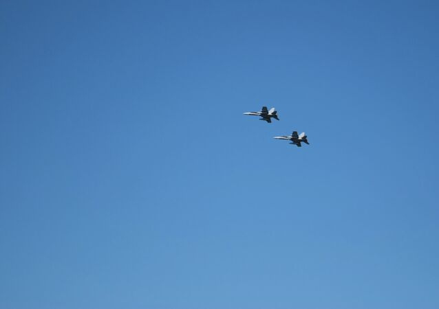 CF-18 Hornets de la Fuerza Aérea de Canadá