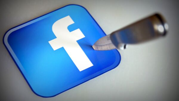 Facebook logo - Sputnik Mundo