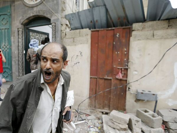 Ataques aéreos sobre ciudades de Yemen - Sputnik Mundo