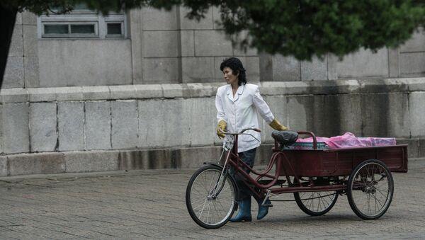Vida cotidiana en Pyongyang (arcivo) - Sputnik Mundo