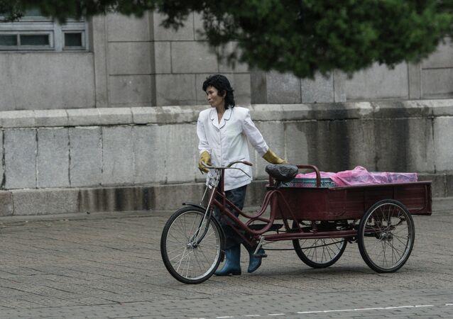 Vida cotidiana en Pyongyang (arcivo)