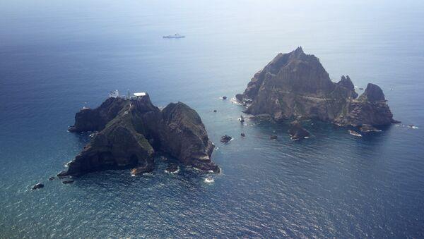 Las islas Dokdo (Takeshima, en nipón) - Sputnik Mundo