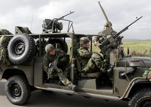 Las maniobras de la OTAN en la República Checa