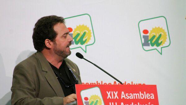 Juan de Dios Villanueva, secretario de relaciones internacionales del Partido Comunista de España (PCE) - Sputnik Mundo