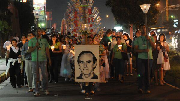 Homenaje a Ignacio Ellacuría en San Salvador (archivo) - Sputnik Mundo