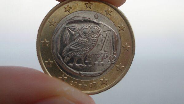 Euro de Grecia - Sputnik Mundo