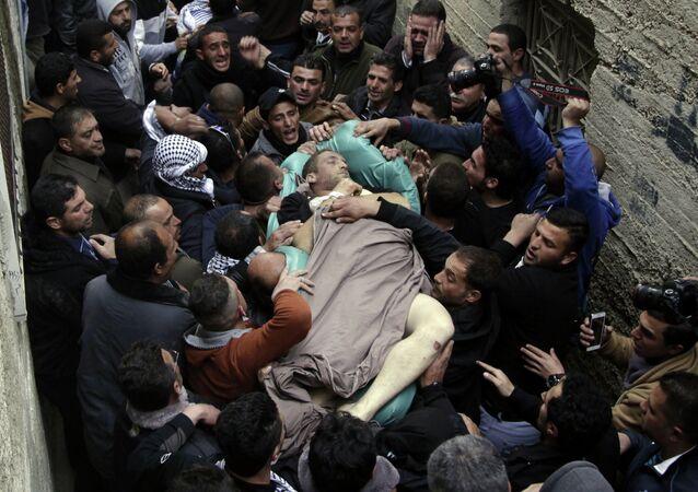 Funeral de Ziyad Awad
