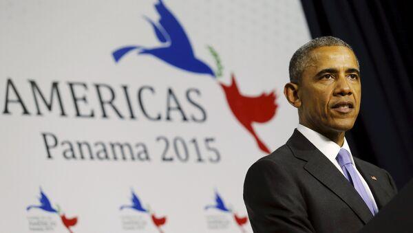 U.S. President Barack Obama holds a news conference - Sputnik Mundo