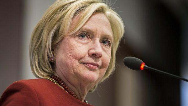 Hillary Clinton, precandidata a la presidencia de EEUU - Sputnik Mundo