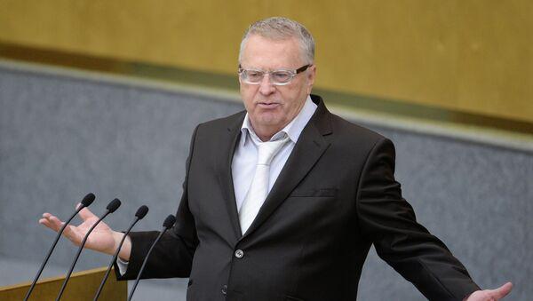 Vladímir Zhirinovski, líder del partido liberal demócrata (LDPR) - Sputnik Mundo