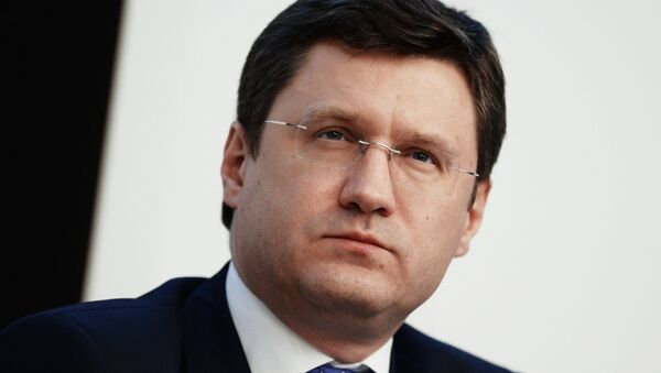 Alexandr Novak, ministro de Energía de Rusia - Sputnik Mundo