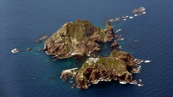 Las islas Dokdo (Takeshima, en Japón) - Sputnik Mundo