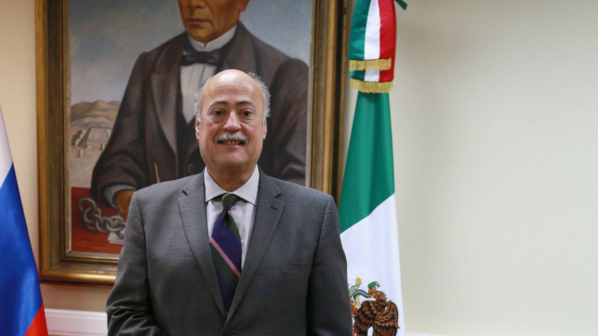 Интервью с послом Мексики Рубеном Бельтраном - Sputnik Mundo, 1920, 23.06.2021