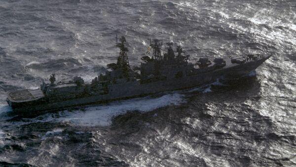 Destructor antisubmarino Severomorsk - Sputnik Mundo