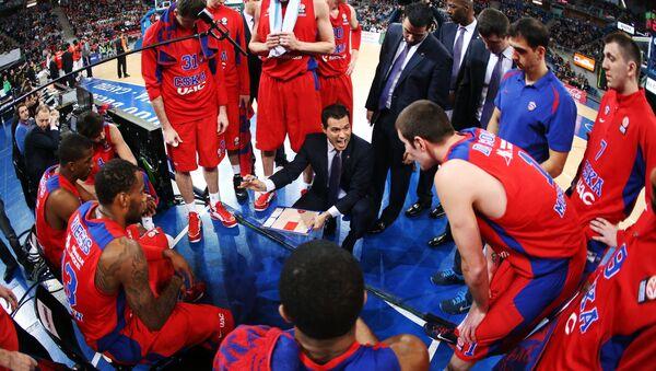 Jugadores de baloncesto de CSKA - Sputnik Mundo