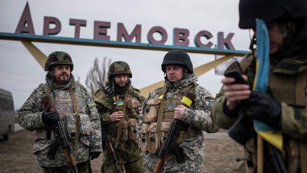 Artiomovsk, una de las ciudades ucranianas que deberán ser cambiadas de nombre - Sputnik Mundo