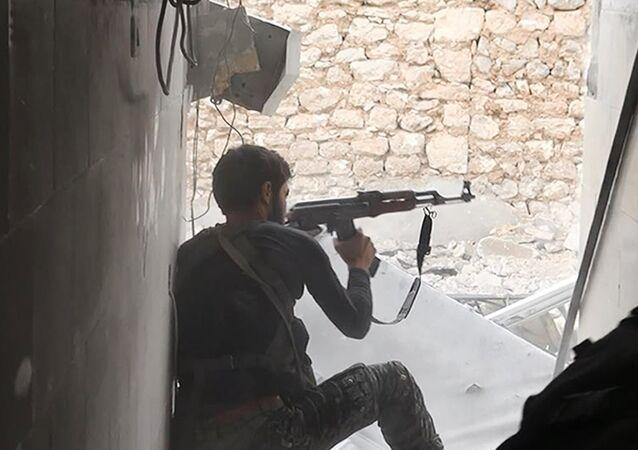 Un yihadista en Siria