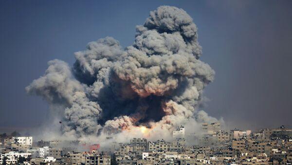 En 50 días de la última guerra de Gaza los bombardeos del Ejército israelí mataron a 2.200 personas e hirieron a más de 11.000 - Sputnik Mundo