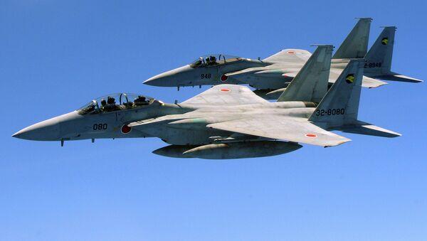 Cazas F-15 de las Fuerzas de Autodefensa de Japón - Sputnik Mundo