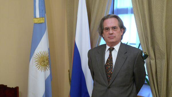 Pablo A. Tettamanti,  embajador de la Argentina en Moscú (archivo) - Sputnik Mundo