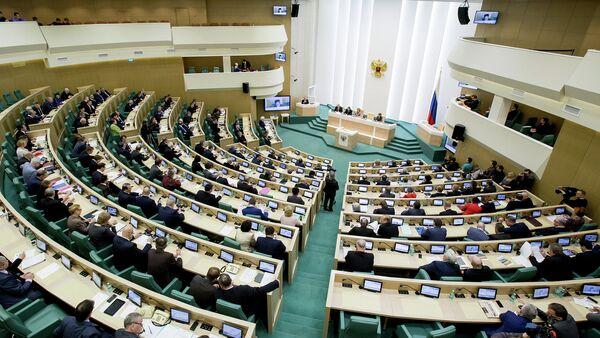 Reunión del Consejo de la Federación de Rusia - Sputnik Mundo