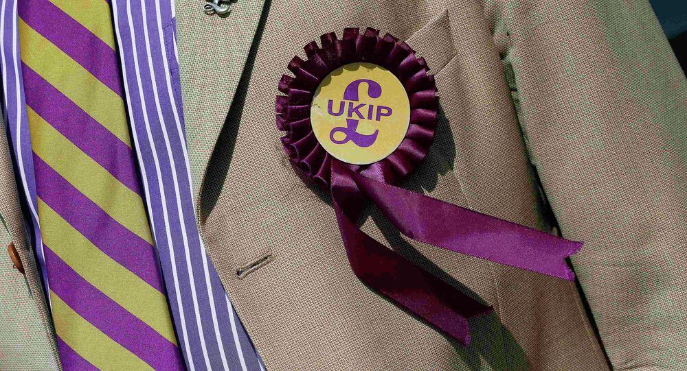 Un emblema de UKIP