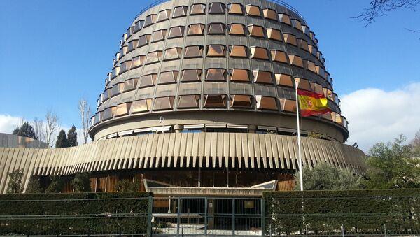 Tribunal Constitucional de España - Sputnik Mundo
