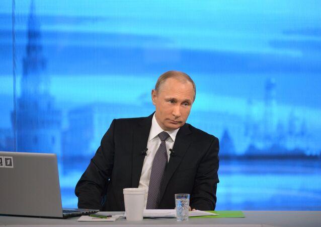 Línea directa con Vladímir Putin (2015)