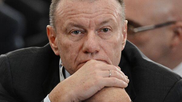 Vladímir Potanin, presidente de la compañía inversionista Interros - Sputnik Mundo