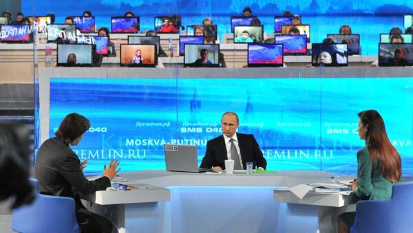 Línea directa con Vladímir Putin - Sputnik Mundo