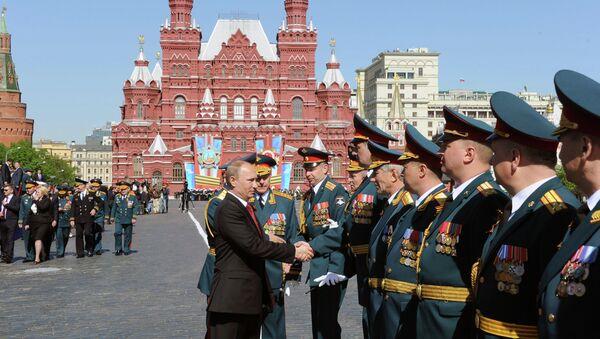 Día de Victoria en Moscú (archivo) - Sputnik Mundo