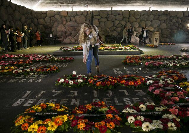 Homenaje a los judíos víctimas del Holocausto (archivo)