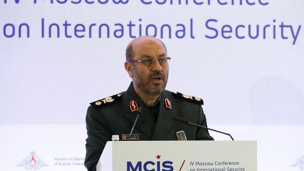 Huseín Dehgan, ministro de Defensa de Irán - Sputnik Mundo