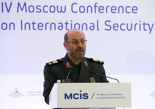 Huseín Dehgan, ministro de Defensa de Irán