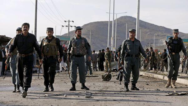 Policía en Afganistan - Sputnik Mundo