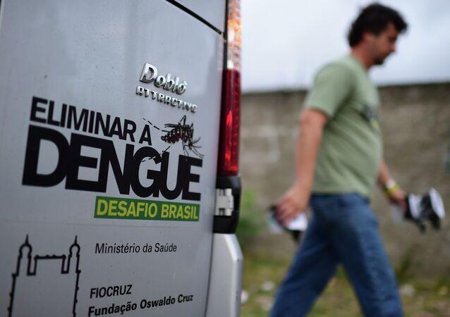 La lucha contra el dengue en Brasil (Archivo)