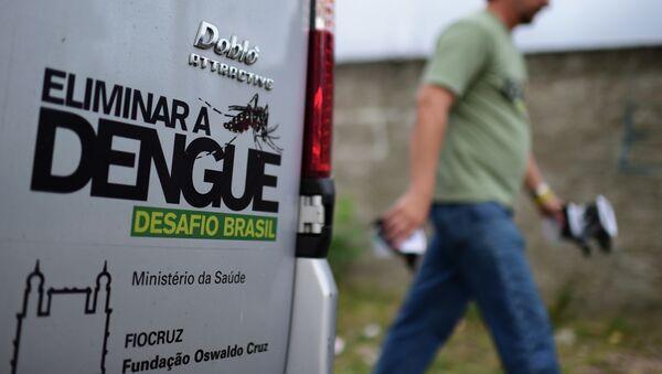 La lucha contra el dengue en Brasil - Sputnik Mundo