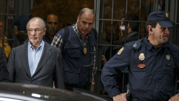 Rodrigo Rato, expresidente del Fondo Monetario Internacional (archivo) - Sputnik Mundo