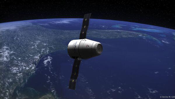 El carguero espacial Dragon - Sputnik Mundo