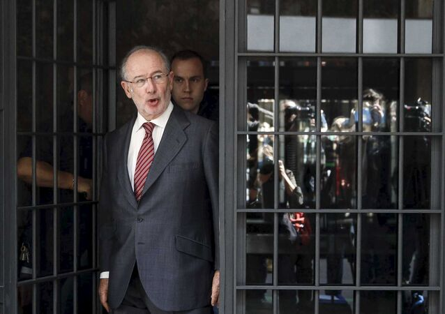 Rodrigo Rato, exdirigente de Bankia