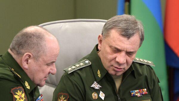 Yuri Borísov, viceministro de Defensa de Rusia (dcha.) - Sputnik Mundo