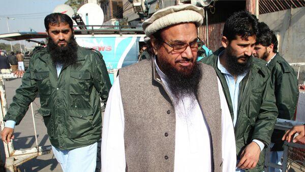 Hafiz Muhammad Saeed (archivo) - Sputnik Mundo