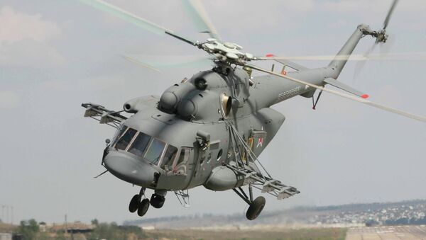 Helicóptero Mi-171 - Sputnik Mundo