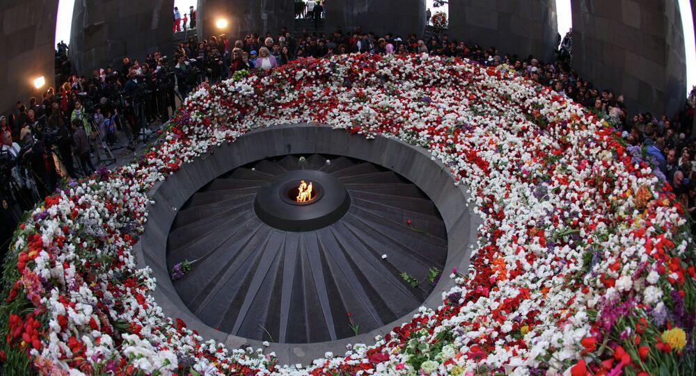Homenaje a las víctimas del genocidio de 1915