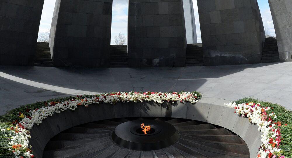 Monumento dedicado a víctimas del genocidio armenio, Tsitsernakaberd