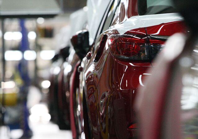 Fábrica de Mazda en Vladivostok