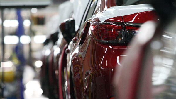 Una fábrica de Mazda (imagen referencial) - Sputnik Mundo