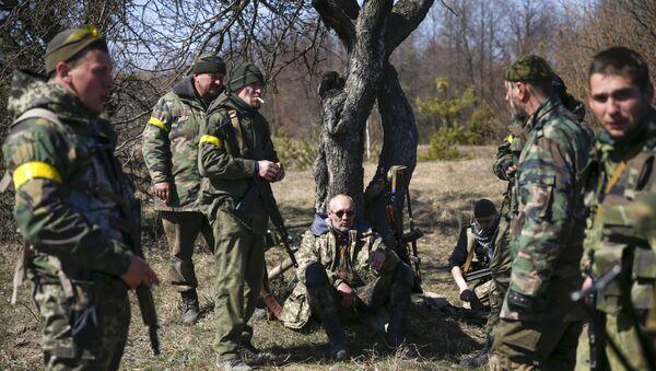 Efectivos del batallón Aidar (Archivo) - Sputnik Mundo